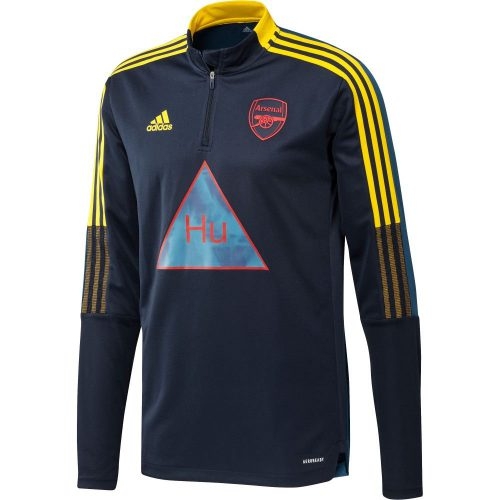 adidas Arsenal HUFC Trainingstrui 2020-2021 Donkerblauw