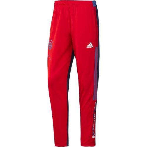 adidas Bayern Munchen HUFC Trainingsbroek 2020-2021 Rood Blauw